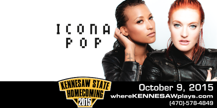 Kennesaw State University welcomes Icona Pop